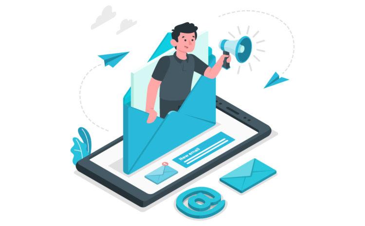 Crear listas de correos electrónicos
