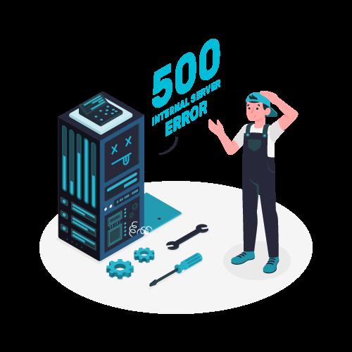 ERROR 500 Internal Server Error - Solución en 2 minutos