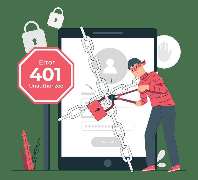 Error 401 unauthorized qué es y cómo solucionarlo