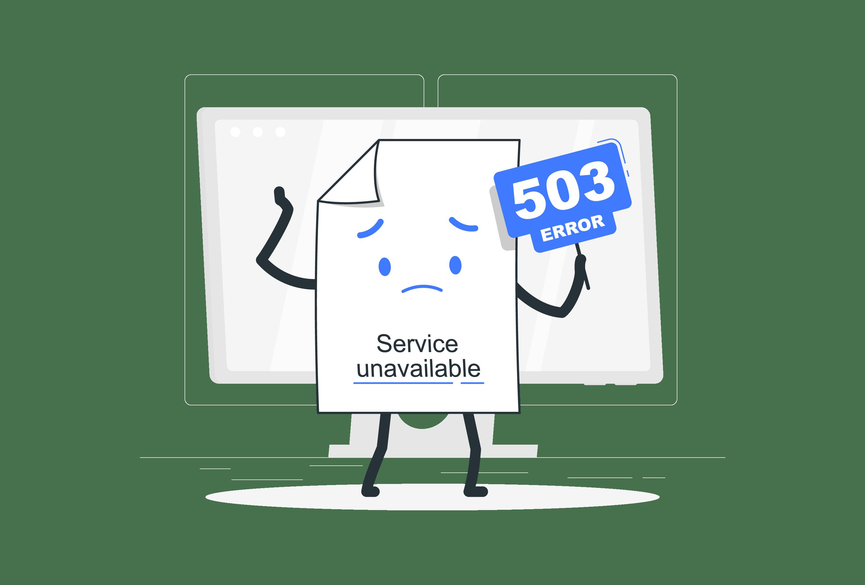 Error 503, ¿Qué es y cómo lo soluciono?