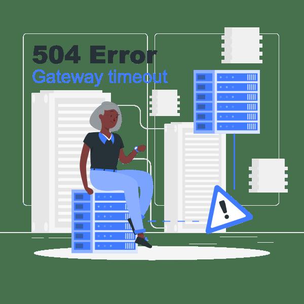 504 error gateway timeout